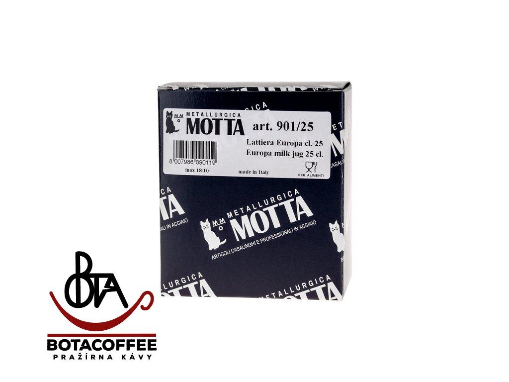 Motta konvička na šlehání mléka Latte Art 0,25 l