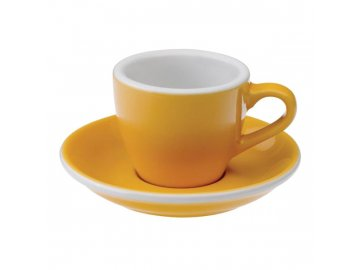 Loveramics Egg Espresso 80 ml Yellow s podšálkem