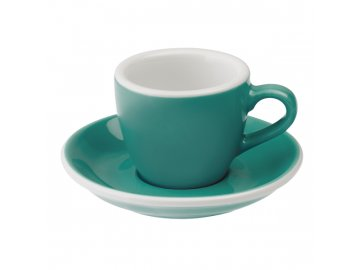 Loveramics Egg Espresso 80 ml Teal s podšálkem