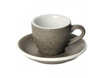 Loveramics Egg Espresso 80 ml Granite s podšálkem