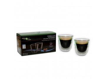 Espresso Skleničky Filter Logic CFL-655B 2ks 70ml
