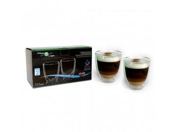 Cappuccino Skleničky Filter Logic CFL-660B 2ks 300ml