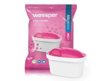 Wessper Aquamax Mg+ (kompatibilní s Brita Maxtra) 1ks