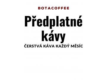 Espresso kávové předplatné