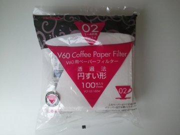 Hario papírové filtry do V60-02 (100 ks)