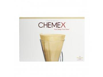 Chemex filtry brown přední strana