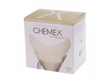 Chemex filtry hranaté FS-100
