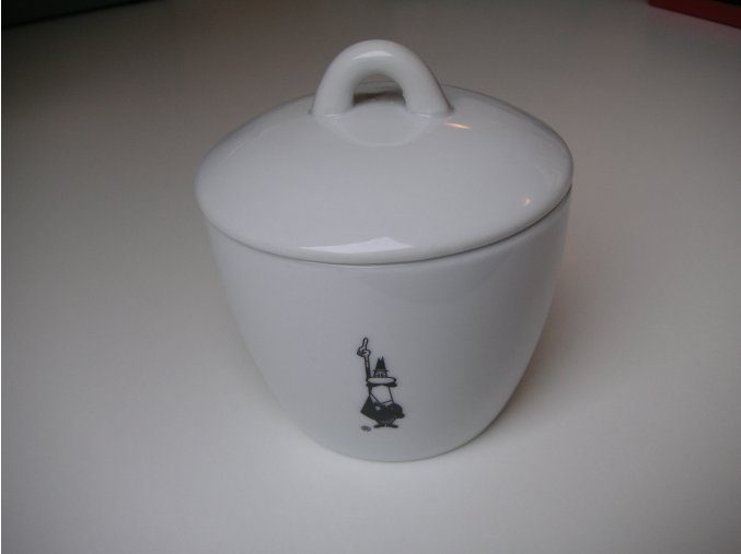 Bialetti porcelánová cukřenka s víčkem