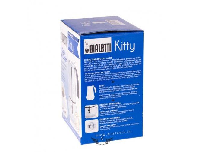 Bialetti Kitty Nera 2 porce