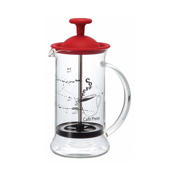 Hario French Press Slim S Red 240ml