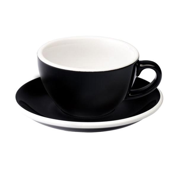 Loveramics Egg Cappuccino 200 ml Black