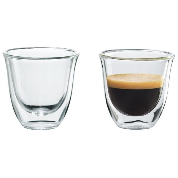 DeLonghi Sklenice na espresso 2 ks