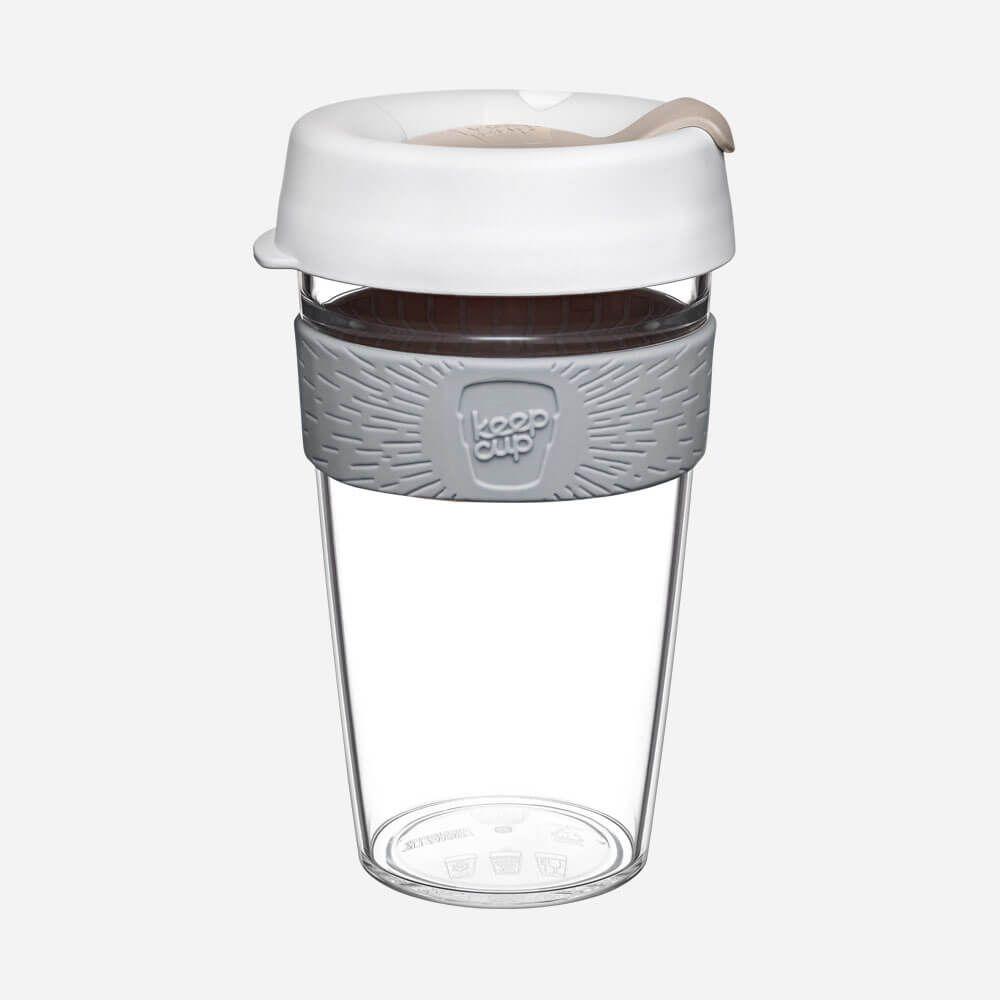 KeepCup Original - Clear Nimbus L (454 ml)
