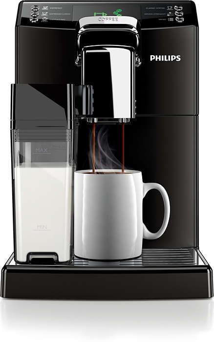 Philips Saeco 4000 HD8847/09 + poukaz na kávu v ceně 200 Kč
