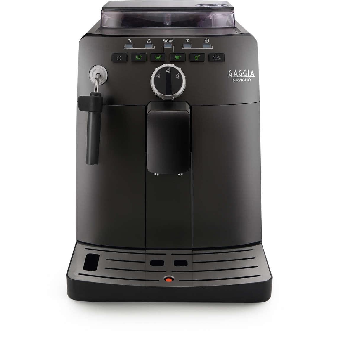 Gaggia Naviglio Black+ poukaz na kávu v ceně 200 Kč