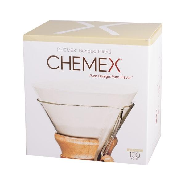 Papírové filtry pro Chemex - 6, 8, 10 porcí - kulaté (FC-100)