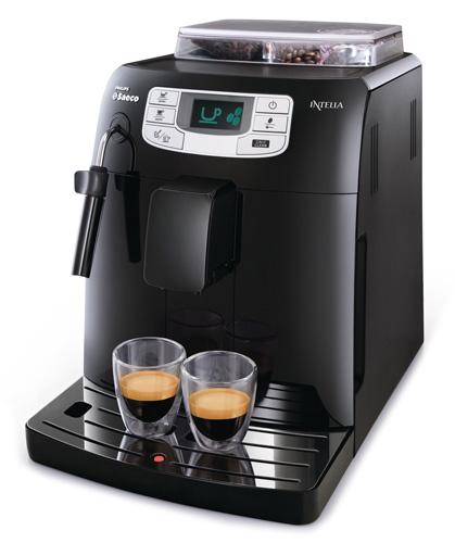 Philips Saeco Intelia Focus Black (HD8751/19) + poukaz na kávu v ceně 200 Kč