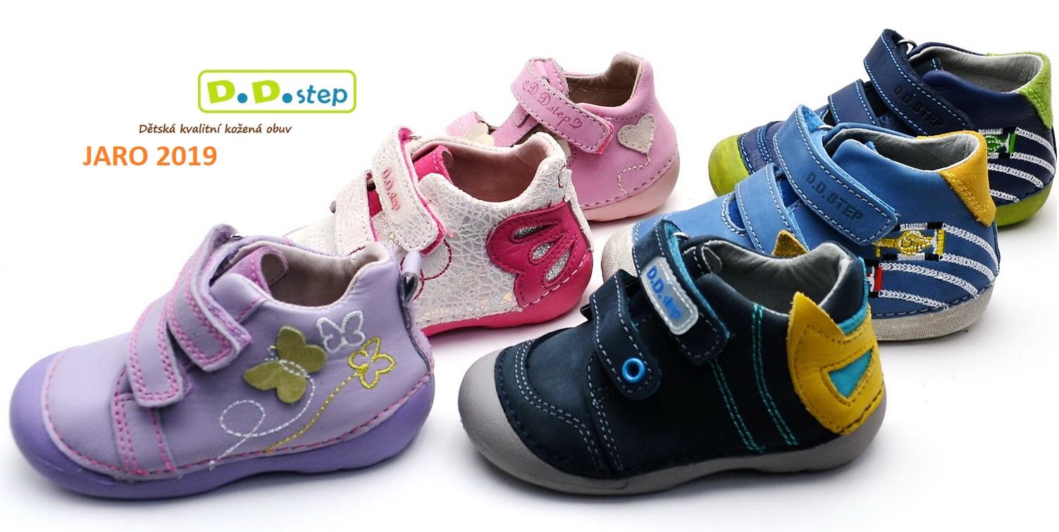 DD Step jarní obuv 2019