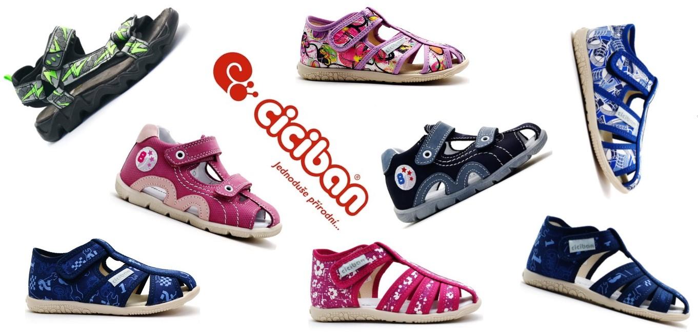 Ciciban bačkory a sandále 2018