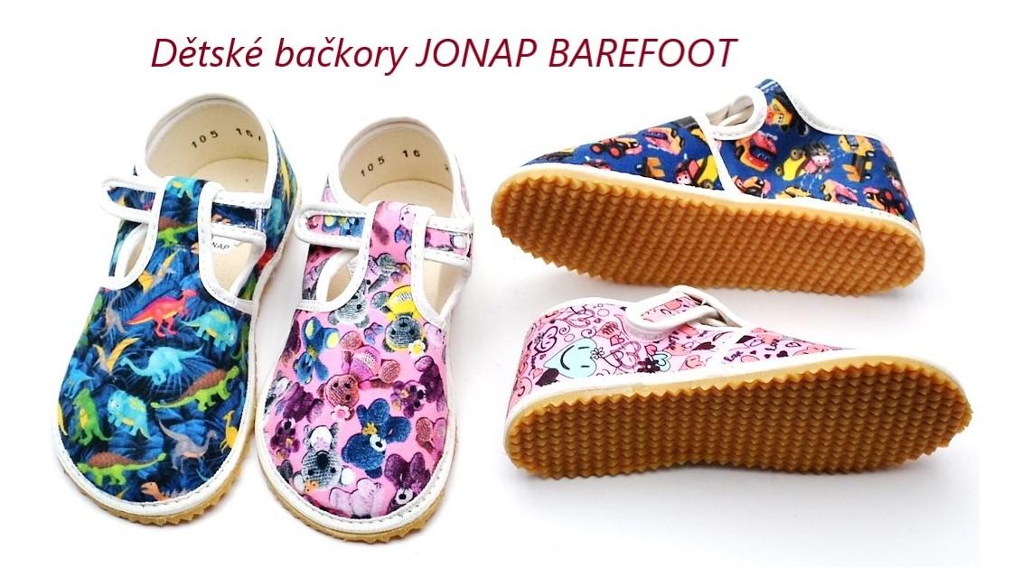 Dětské bačkory JONAP Barefoot