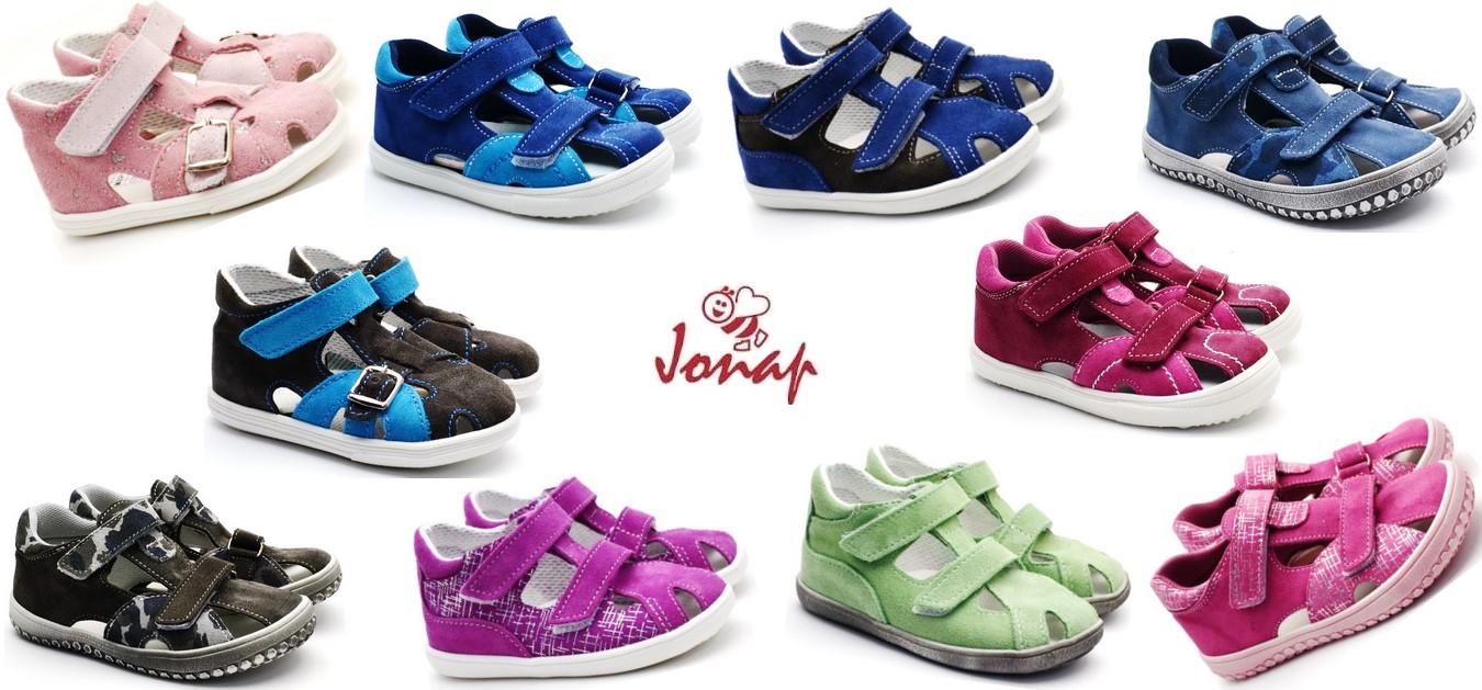 Dětské sandále JONAP - léto 2019