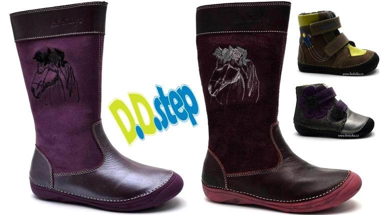 Zimní obuv od firmy DDStep
