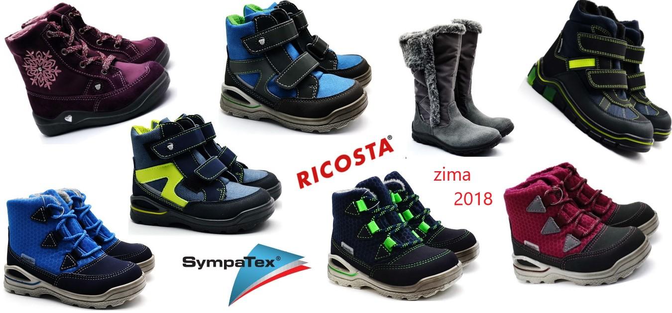Zimní obuv Ricosta