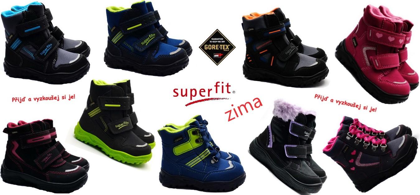 Zimní obuv Superfit 2018