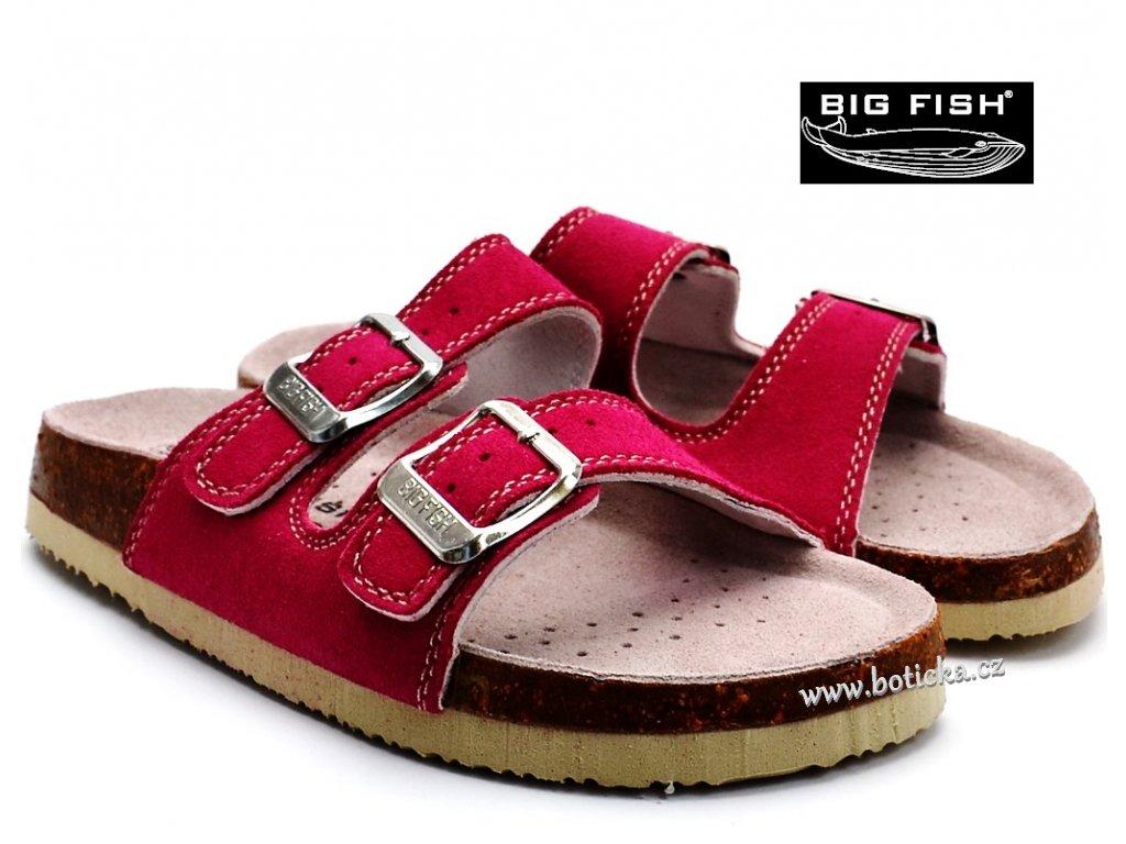 BIG FISH pantofle FS-213-15-03 tm. růžové
