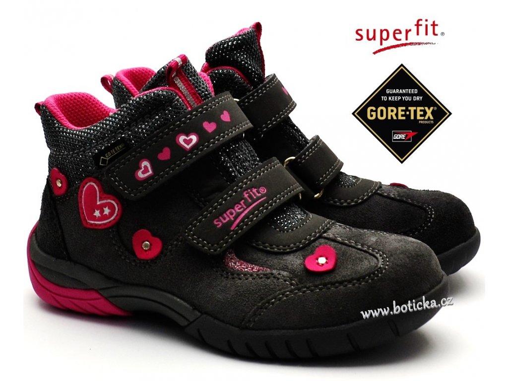32835332ebd Dětské boty SUPERFIT 8-09136-20 gore-tex - Botička