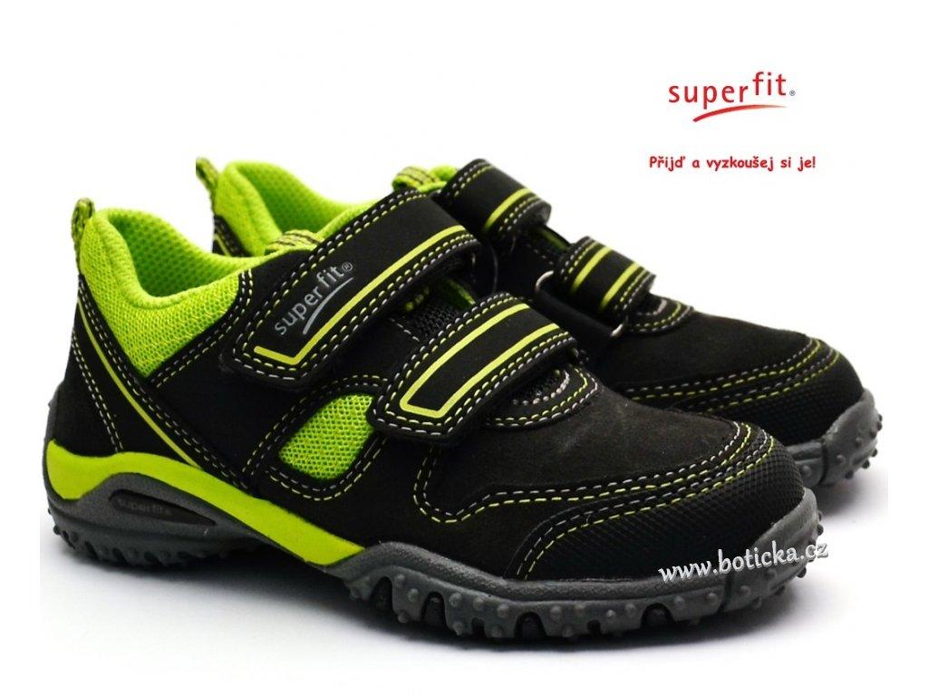 Dětské boty SUPERFIT 3-09224-20 grau grun - Botička b9484c8b26