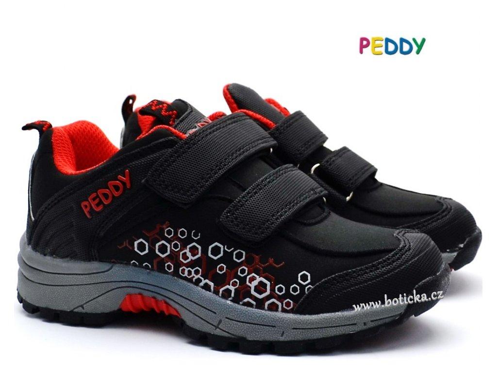 66629e5aae0 Softshell boty PEDDY PO5092606 černé - Botička