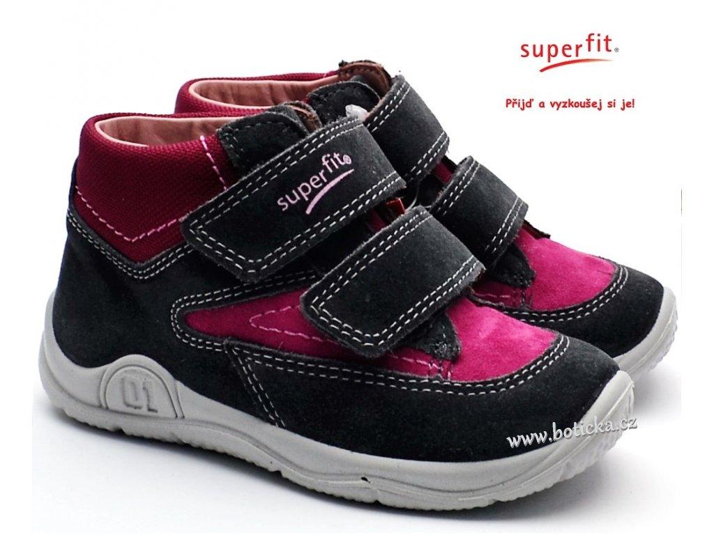 SUPERFIT obuv 3-09417-20 grau/rot