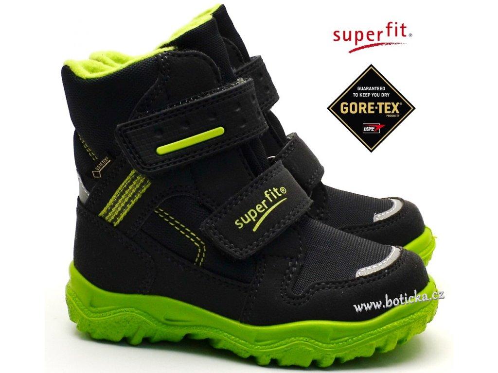 422bf09e819 Zimní obuv SUPERFIT 3-09044-20 grau grun - Botička