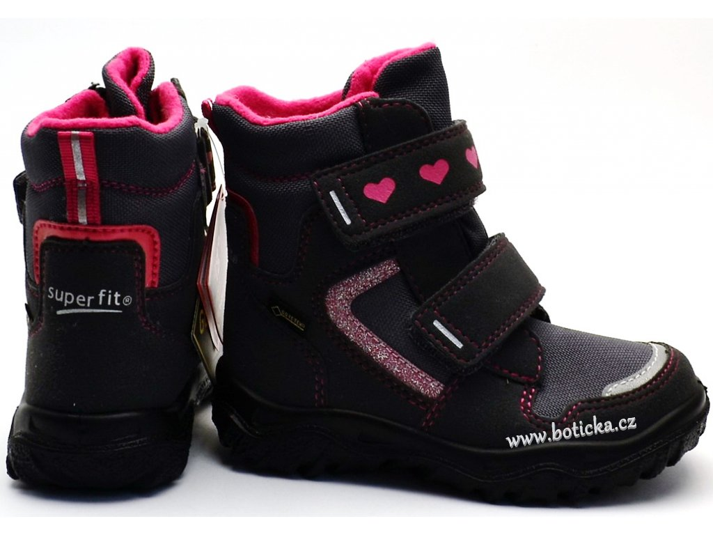 12031fb3bb1 Zimní obuv SUPERFIT 8-09045-20 grau rosa. 1 z 4. 15890452a 15890452b  15890452c