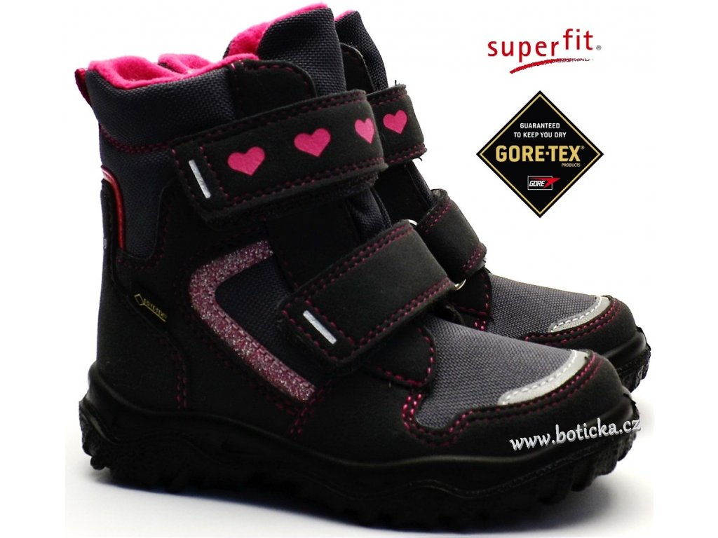 991ff0e0be2 Zimní obuv SUPERFIT 8-09045-20 grau rosa - Botička