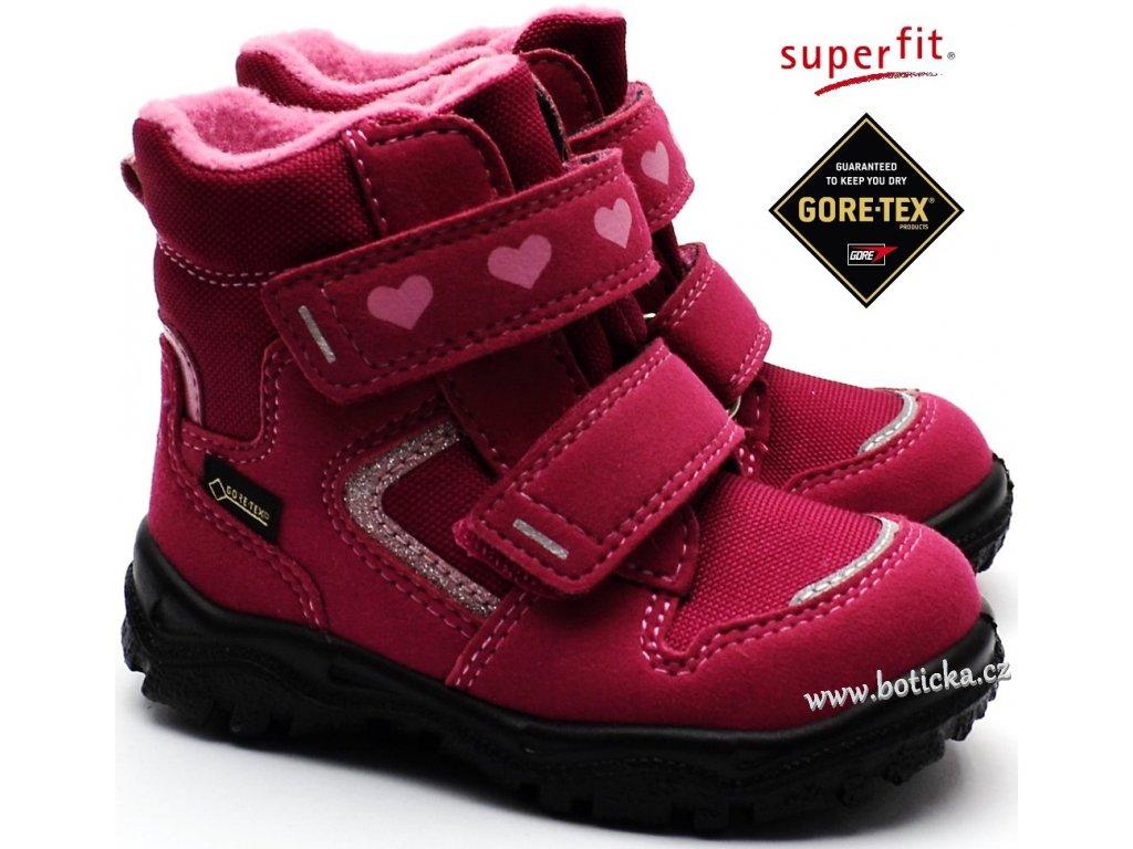 ea9c26c8547 Zimní obuv SUPERFIT 3-09045-50 rot rosa - Botička