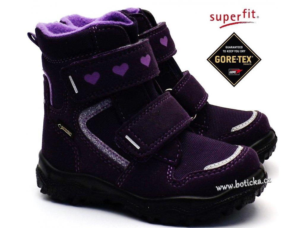 Zimní obuv SUPERFIT 3-09045-90 lila