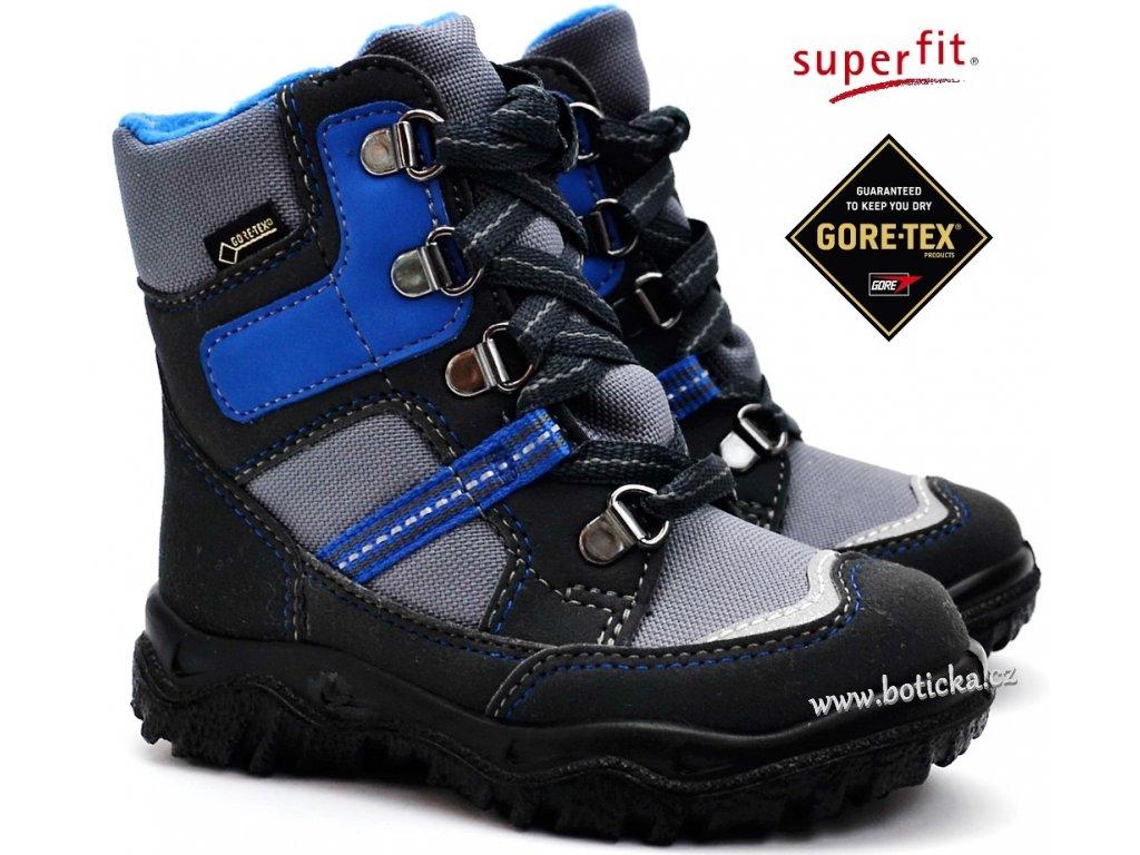Zimní obuv SUPERFIT 3-09043-20 grau blau - Botička 6b531b83b0