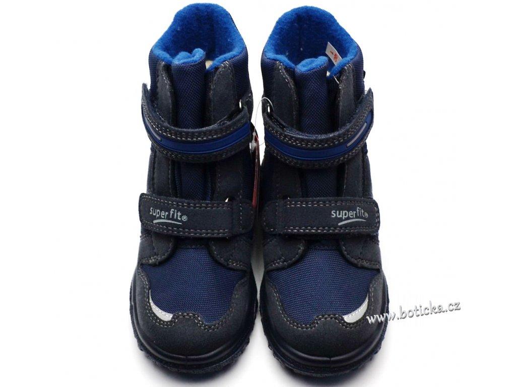 01d84127663 Zimní obuv SUPERFIT 3-09080-80 blau - Botička