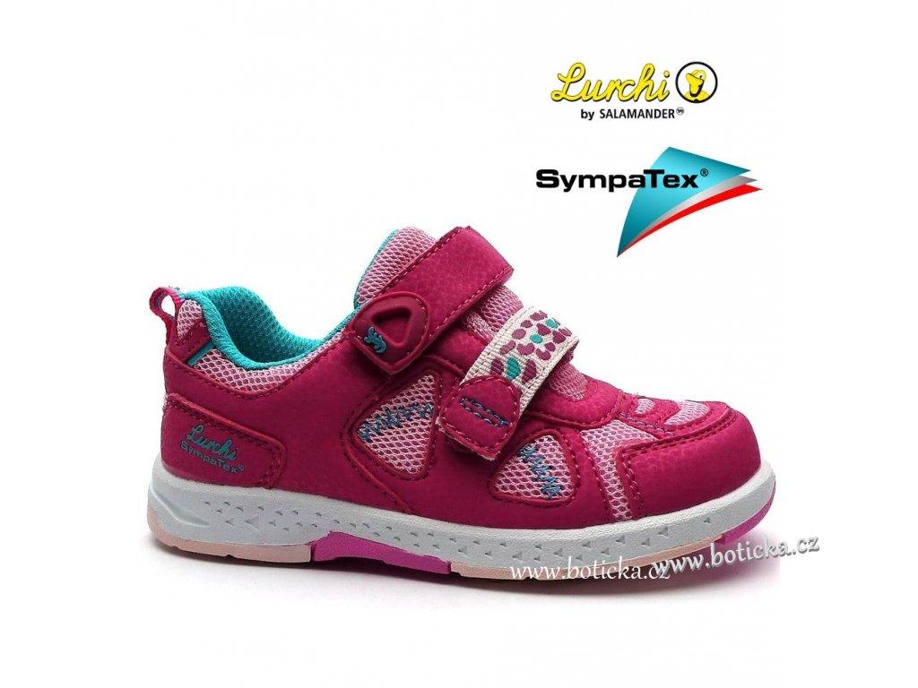 LURCHI obuv 33-26401 růžové