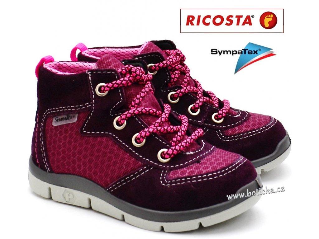 Dětské boty RICOSTA 20272-362 merlot - Botička 2f5744e818