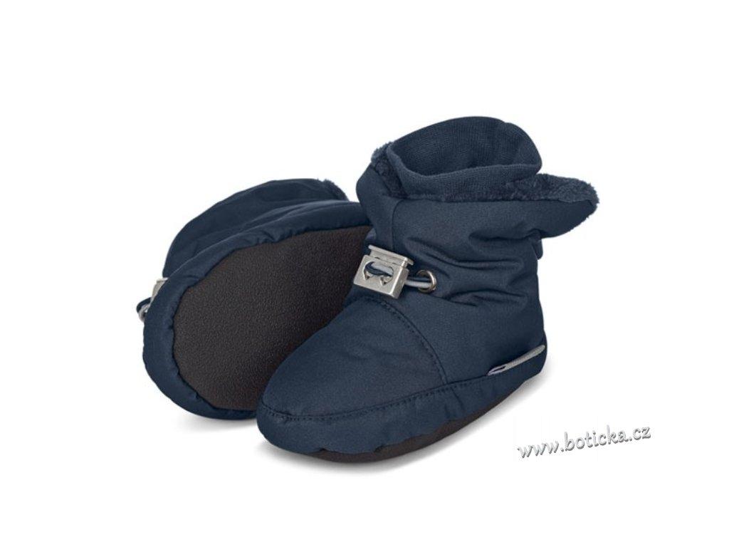 Teplé botičky utahovací STERNTALER modré - Botička 24c0ff3c1e