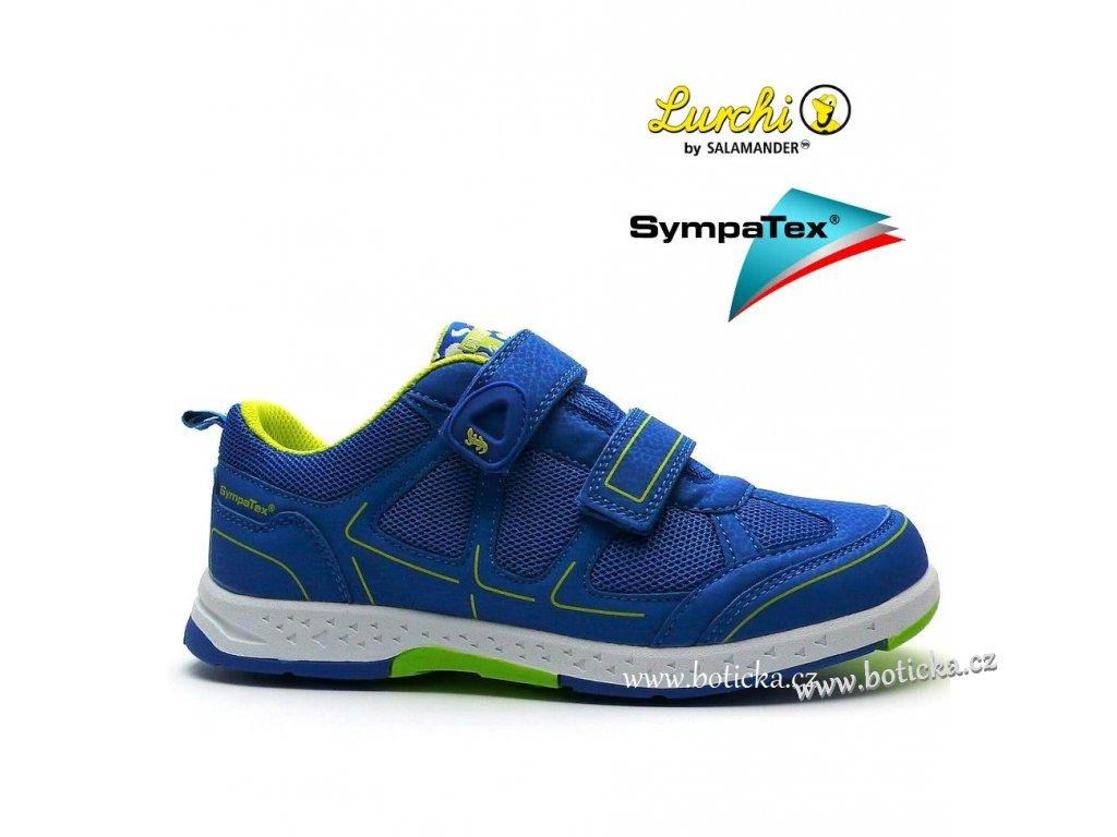LURCHI obuv 33-26406 modrozelené
