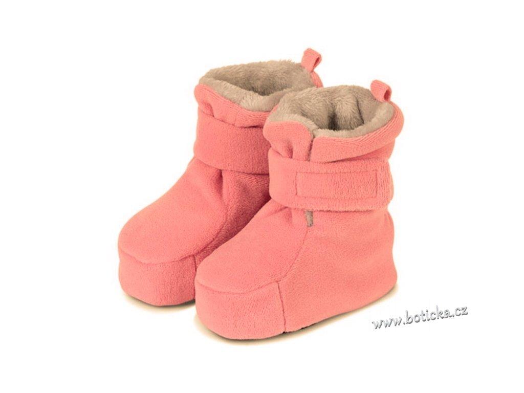 Teplé boty do kočárku STERNTALER perlrosa