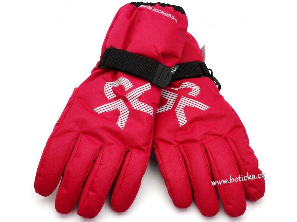 Voděodolné rukavice Savoy gloves Rasberry