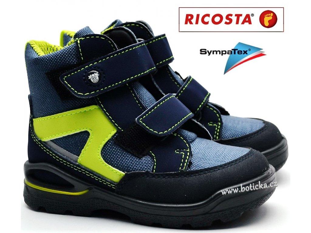 Zimní  obuv RICOSTA 39302-142 nebel