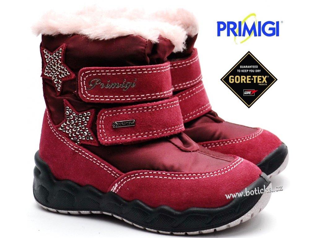 Zimní boty PRIMIGI PMAGT 2378411 bordo