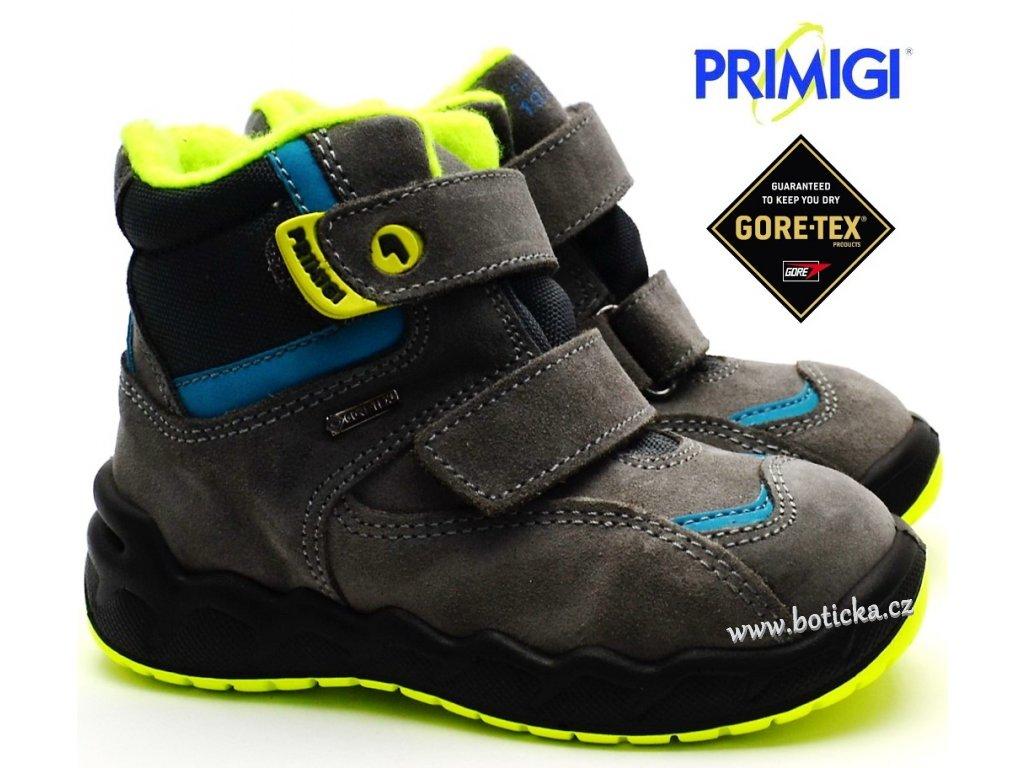 e2096ae38d9 Zimní boty PRIMIGI PMAGT 2378500 grigio - Botička