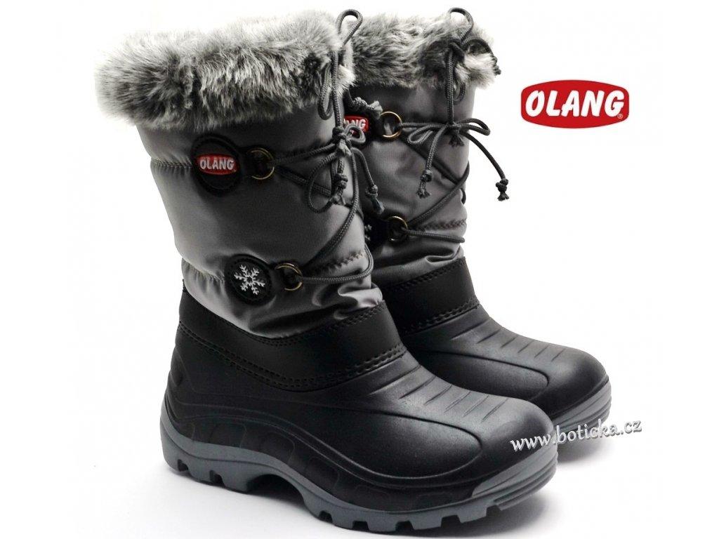 Zimní obuv OLANG PATTY 816 černé - Botička d9ace2d2d7